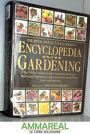 RHS Encyclopedia of Gardening: Christopher Brickell