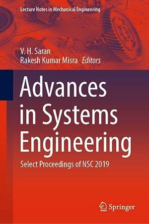 Advances in Systems Engineering : Select Proceedings: Rakesh Kumar Misra
