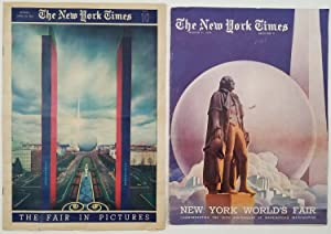 New York World's Fair: Commemorating the 150th Anniversary of Washington's Inauguration. The Fair...