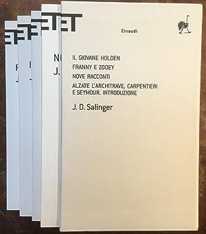Cofanetto Salinger: Il giovane Holden-Franny e Zooey-Nove: J.D. Salinger