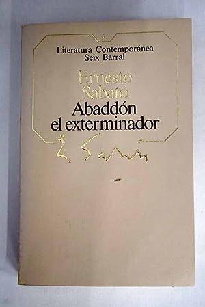 Abaddón el exterminador: Sábato, Ernesto