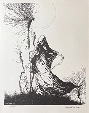 The Roots of Fear - Print (Signed): Charles Vess