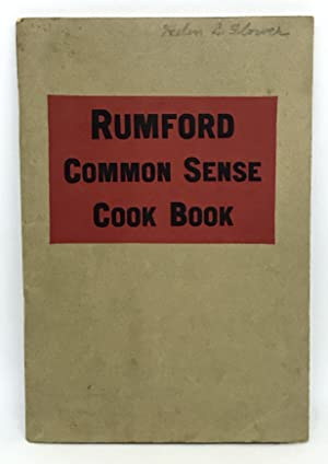 Rumford Common Sense Cook Book