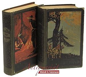 Old Surehand. Reiseerzählung. 2 Bände. 136.-150. Tausend;: May, Karl.
