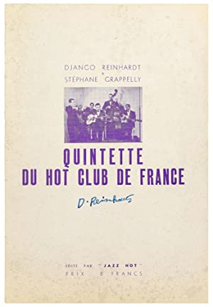[Program]: Django Reinhardt & Stephane Grappelly. Quinette Du Hot Club De France