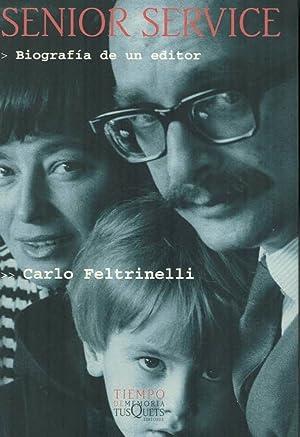 Immagine del venditore per SENIOR SERVICE. Biografía de un editor. venduto da Librería Torreón de Rueda