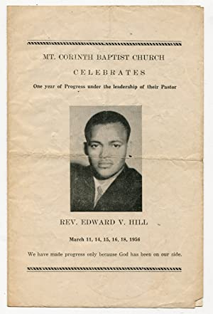 Rev. Edward V. Hill Celebration Service at Mt. Corinth Baptist Church [Houston, Texas] - March 11...