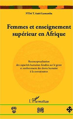 Femmes et enseignement supérieur en Afrique : Assié-Lumumba N'Dri T.