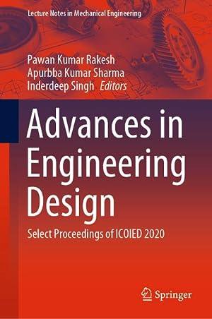 Advances in Engineering Design : Select Proceedings: Pawan Kumar Rakesh