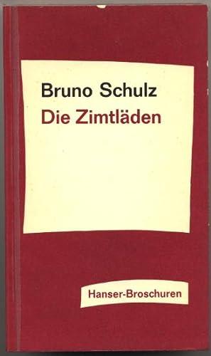 Die Zimtläden.: Schulz, Bruno:
