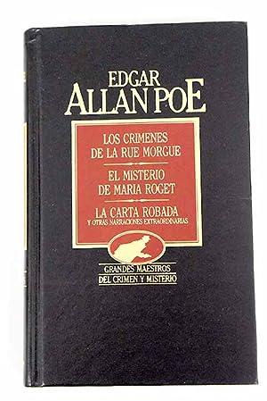 Los crímenes de la rue Morgue: Poe