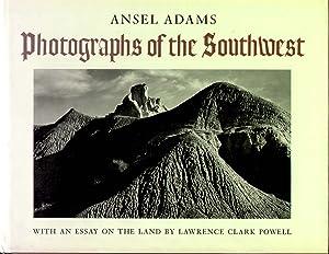 "Ansel Adam's Signed Coffee table Book ""Photographs: Adams, Ansel"