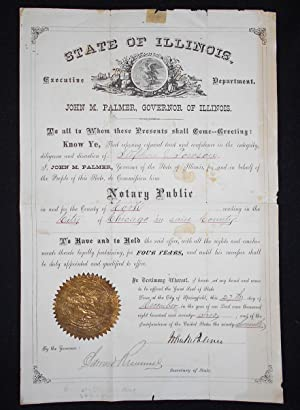 Commission of Stephen J. Towson as Notary Public of Cook County, Illinois