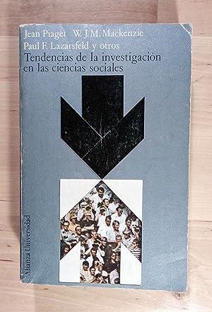 Tendencias de la investigación en las ciencias: Piaget, Jean; Mackenzie,