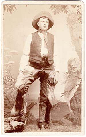 [California Cowboy Carte-de-visite]