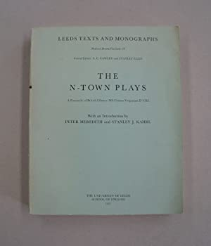 The N-Town Plays; A Facsimile of British: Peter Meredith; Stanley