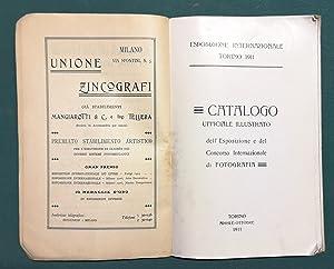 Catalogo ufficiale illustrato dell'esposizione e del concorso: FOTOGRAFIA.