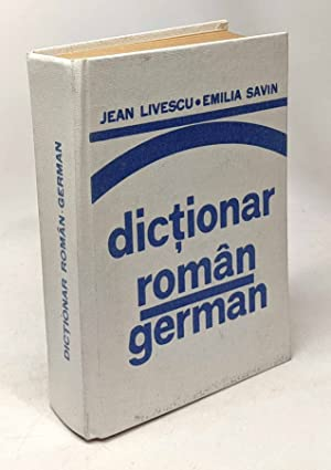 Dictionar român-german (dictionnaire roumain-allemand)