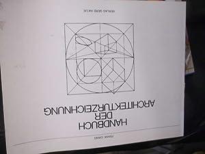 Handbuch der Architekturzeichnung zeichnerisache darstellung von baulichen: Ching, Francis D.