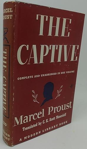THE CAPTIVE: Marcel Proust