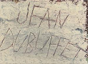 Jean Dubuffet,: CORDIER Daniel,