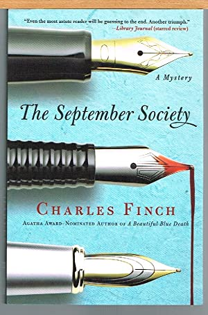 SEPTEMBER SOCIETY, Charles Lenox Mystery, No. 2