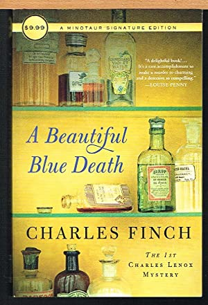 BEAUTIFUL BLUE DEATH, Charles Lenox Mystery, No. 1