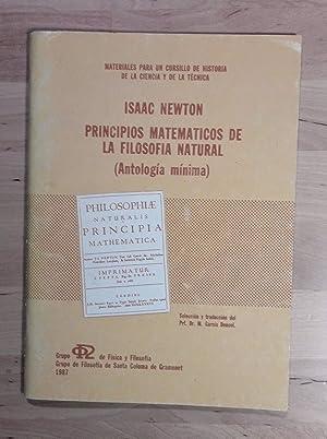 Principios matemáticos de la filosofía natural (Antología: Newton, Isaac