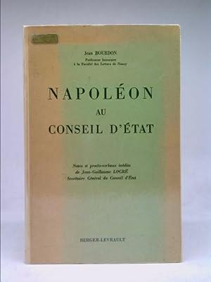 Napoleon au Conseil d'Etat: Bourdon Jean