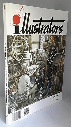Bild des Verkäufers für Illustrators. Issue 7. SIGNED BY ALAN LEE AT THE HAY FESTIVAL. zum Verkauf von Addyman Books