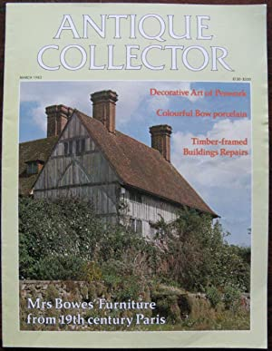 The Antique Collector. Volume 54 Number 3. March 1983