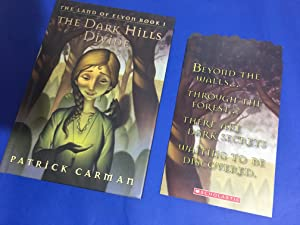 The Dark Hills Divide (US HB 1/1 Signed by the Author - Scholastic Edition - Cast of Characters P...