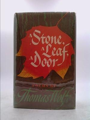A Stone, a Leaf, a Door: Thomas Wolfe