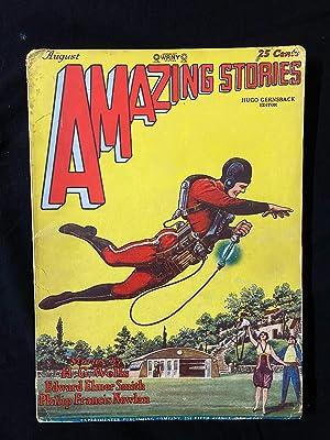 Amazing Stories Pulp August 1928- 1st BUCK