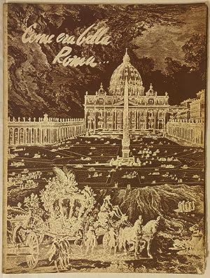 Immagine del venditore per Come era bella Roma venduto da librisaggi