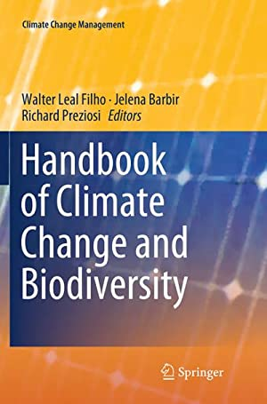 Handbook of Climate Change and Biodiversity: Walter Leal Filho