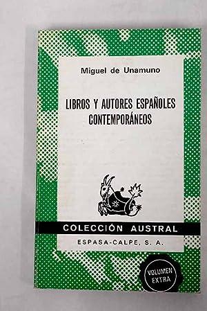 Libros y autores españoles contemporáneos: Unamuno, Miguel de