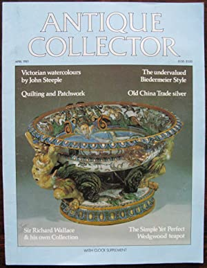 The Antique Collector. Volume 54. Number 4. April 1983