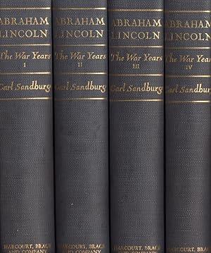 Abraham Lincoln The War Years: Sandburg, Carl