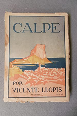 CALPE.: LLOPIS BERTOMEU, VICENTE.