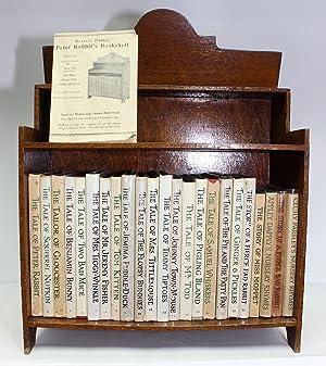 An Original 1940/50's Beatrix Potter Bookcase and: Beatrix Potter