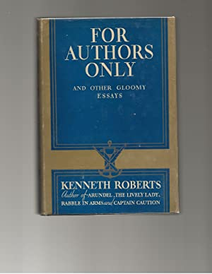 For Authors Only: Roberts, Kenneth