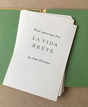 WOOD ENGRAVINGS FROM LA VIDA BREVE. Artists Proof set.