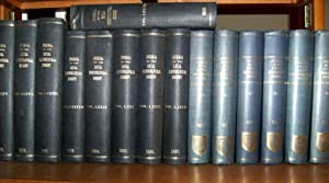 Journal of the Royal Horticultural Society Volumes LXXIII - LXXXVIII (73 - 87) - Sixteen volumes