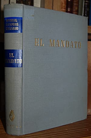 EL MANDATO: SANPONS SALGADO, Manuel