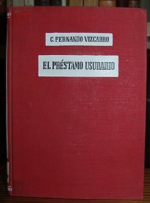 EL PRESTAMO USURARIO: FERNANDO VIZCARRO, C.