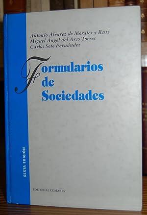 FORMULARIOS DE SOCIEDADES: ALVAREZ DE MORALES