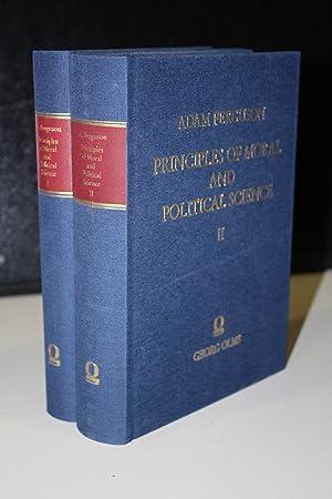 Principles of moral and political science. Dos: Ferguson, Adam.