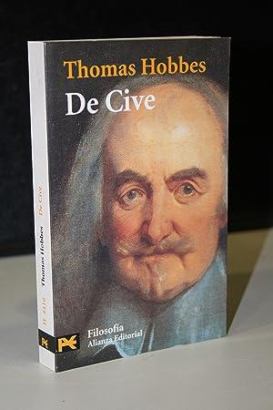 De Cive. Elementos filosóficos sobre el ciudadano.-: Hobbes, Thomas.