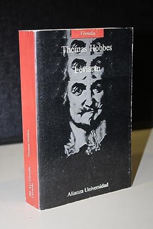 Leviatán.- Hobbes, Thomas.: Hobbes, Thomas.